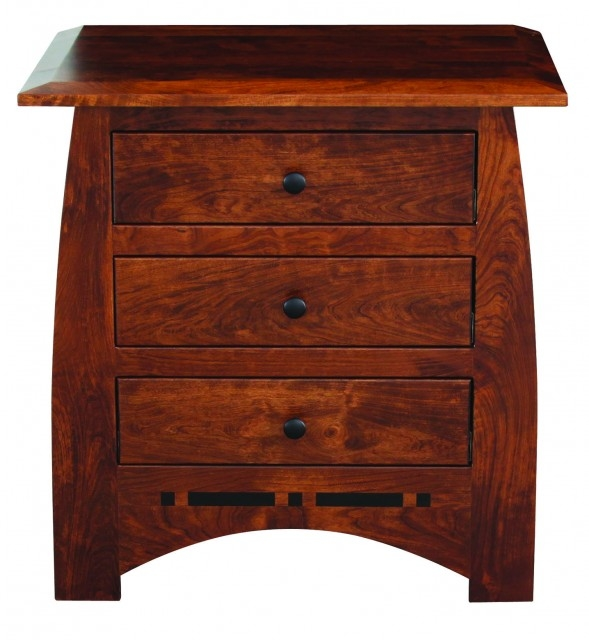 Aspen Nightstand w/3 Drawers