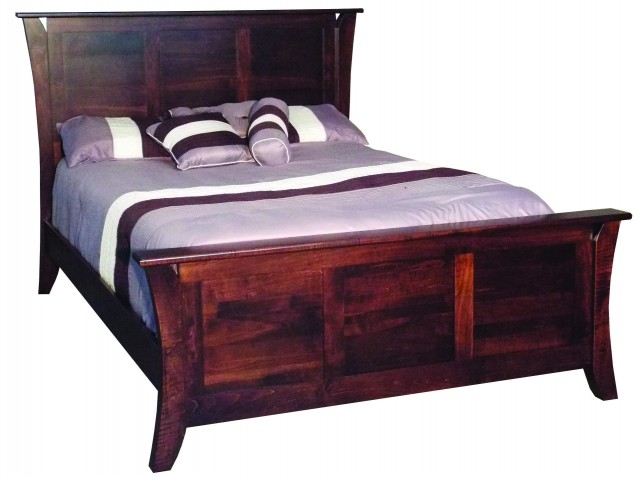 Caledonia Bed w/Regular Footboard