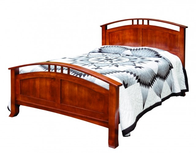 Crescent Panel Bed