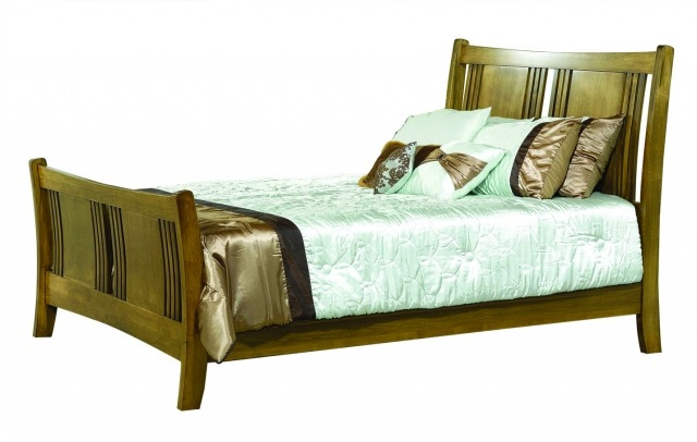 Granville Sleigh Bed