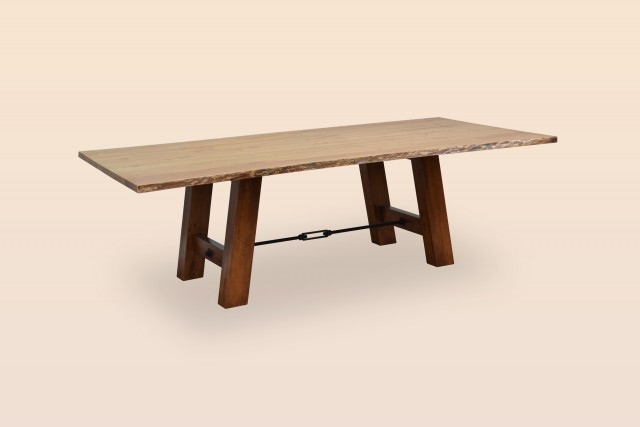 Ouray Table w/ Live Edge Top
