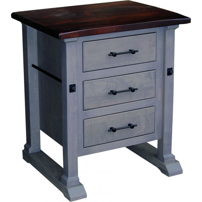 Carla Elizabeth Nightstand w/3 drawers